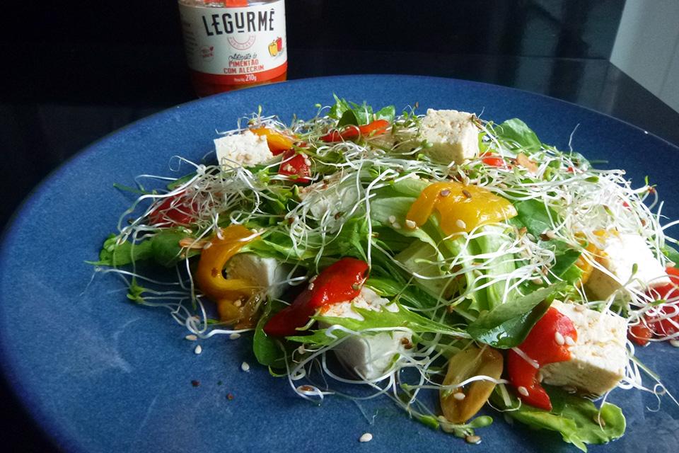 Salada de Pimentão com Alecrim